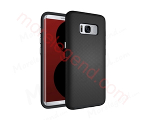 Picture of Copy of Anti-Slip Armor Case for Samsung Galaxy S8-Black