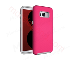 图片 Copy of Copy of Anti-Slip Armor Case for Samsung Galaxy S8-Pink