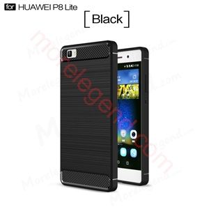 Picture of Carbon fiber case for Huawei Ascend P8 Lite