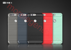 图片 Carbon fiber case for Huawei Hornor8-tpu