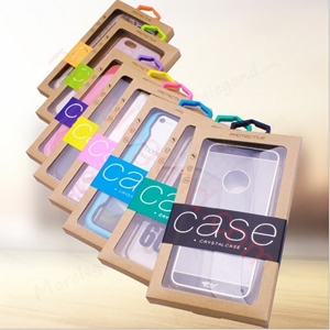 Picture of carton box phone case package for size 5.5 inch