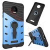 Picture of 2 In 1 Armor Shell Case With Stand For Moto Z Force