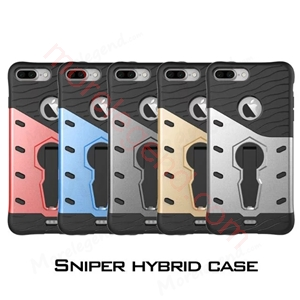 Picture of 2 In 1 Armor Shell Case With Stand For Iphone 7 Plus