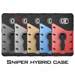 Picture of 2 In 1 Armor Shell Case With Stand For S6 Edge
