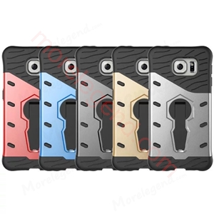 图片 2 In 1 Armor Shell Case With Stand For S6
