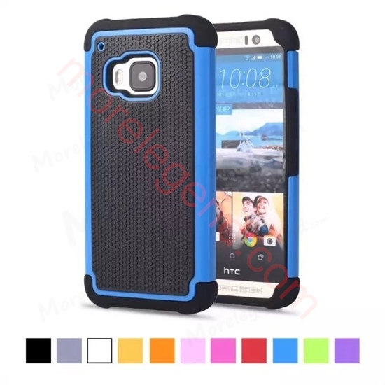 图片 2 In 1 Football Grain/Dots Case For Htc M9
