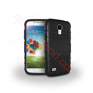 Picture of 2 In 1 Hybrid(Pc+Tpu) Kickstand Case For Samsung S4