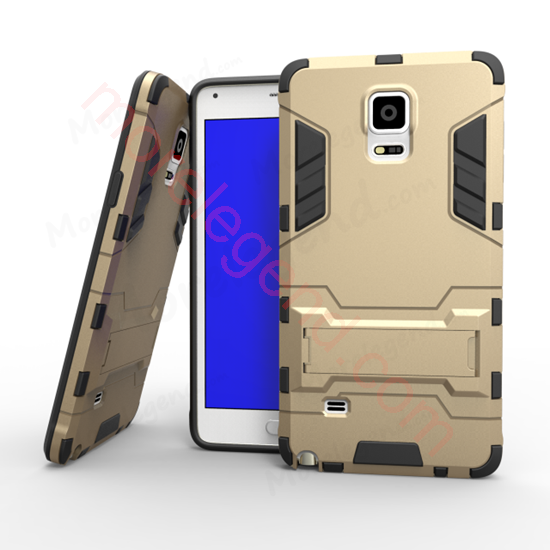 Picture of 2 In 1 Armor Case With Stand For Samsung Note 4