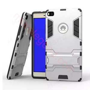 图片 2 In 1 Armor Case With Stand For Huawei P8