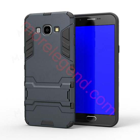 Picture of 2 In 1 Armor Case With Stand For Samsung A8