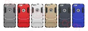 图片 2 In 1 Armor Case With Stand For Iphone 6 4.7 5.5
