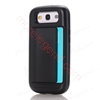 图片 2 In 1 Case With Card Slot For Samsung S3
