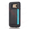 Picture of 2 In 1 Case With Card Slot For Samsung S6 Edge
