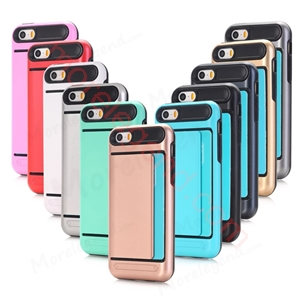 Picture of 2 In 1 Case With Card Slot For Iphone 4G\4S