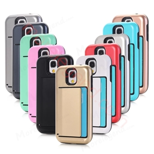 Picture of 2 In 1 Case With Card Slot For Samsung S4