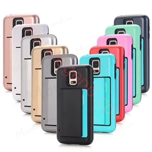 Picture of 2 In 1 Case With Card Slot For Samsung S5
