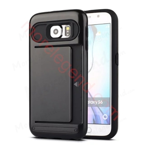图片 2 In 1 Case With Card Slot For Samsung S6