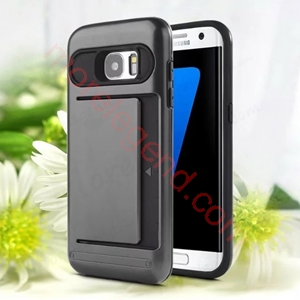 Picture of 2 In 1 Case With Card Slot For Samsung S7 Edge