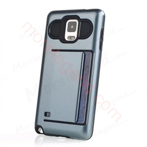 图片 2 In 1 Case With Card Slot For Samsung Note 4
