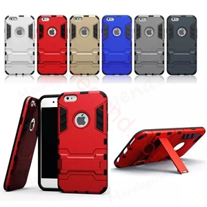 Picture of 2 In 1 Armor Case With Stand For Iphone 6\6Plus