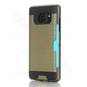 Picture of 2 In 1 Striated Metal Case With Card Slot For Samsung Note7