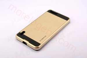 Picture of 2 In 1 Striated Metal Case With Card Slot For Huawei Hornor 6Plus