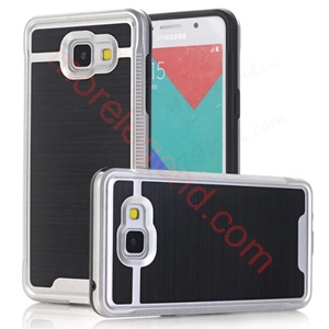 Picture of 2 In 1 Striated Metal Case With Card Slot For Samsung A510