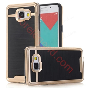 Picture of 2 In 1 Striated Metal Case With Card Slot For Samsung A710