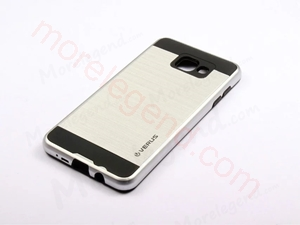 Picture of 2 In 1 Striated Metal Case With Card Slot For Samsung A5100