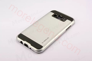 Picture of 2 In 1 Striated Metal Case With Card Slot For Samsung J5