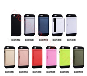 图片 2 In 1 Card Slot Case For iPhone 5Ssgp