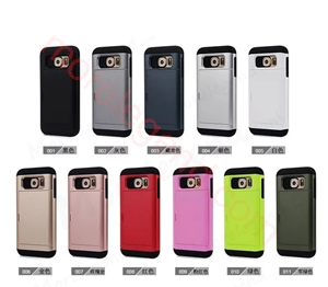 图片 2 In 1 Card Slot Case For Samsung S6Sgp