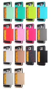图片 2 In 1 Card Slot Case For Samsung Note4