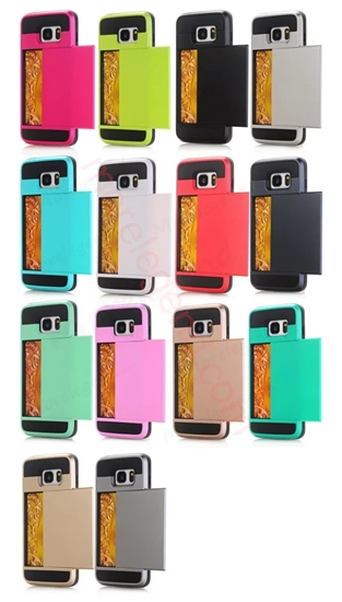 Picture of 2 In 1 Card Slot Case For Samsung S7Edge