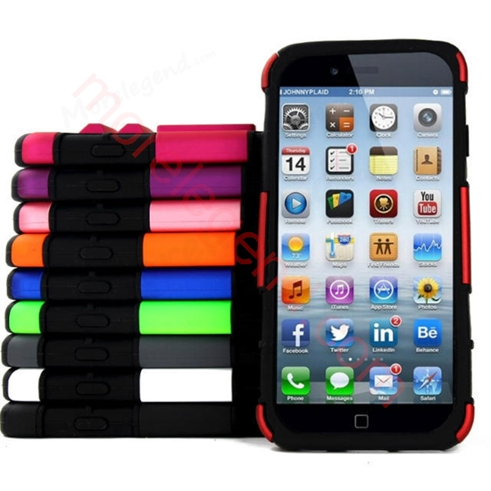 Picture of Smoothly Touching Case With Stnad For iPhone 6 5.5