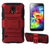Picture of Smoothly Touching Case With Stnad For Samsung S5 I9600
