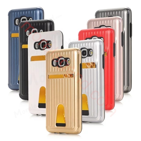 图片 Travel Suitcase Mobile Phone Case With Card Slot For Samsung J5(2016)