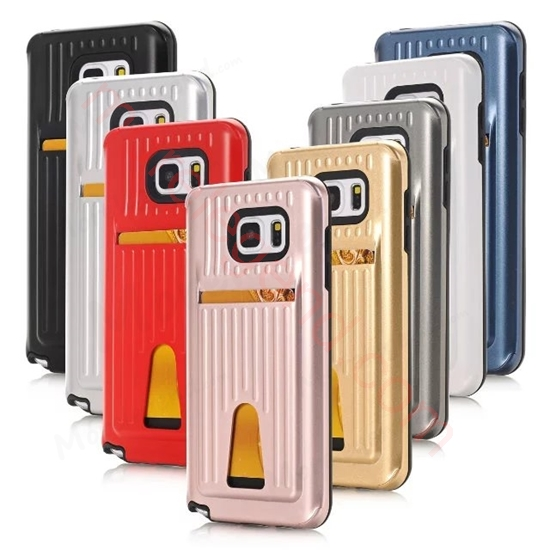 图片 Travel Suitcase Mobile Phone Case With Card Slot For Samsung Note5