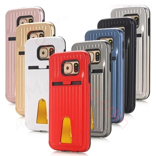 图片 Travel Suitcase Mobile Phone Case With Card Slot For Samsung S6