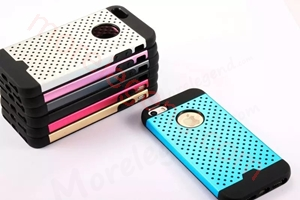 图片 2 In 1 Dot Point Aluminum Case For iPhone 5