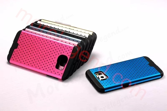 Picture of 2 In 1 Dot Point Aluminum Case For Samsung S6