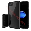Picture of Solid Acrylic Back&Reinforced Soft TPU Frame,Ultra-Clear&Slim,Shock-Absorption Bumper,Anti-Scratch&Fingerprint Back cover Case For iphone 7 plus