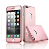 Picture of Ultra Slim 360 Degree Full Body Electroplating Mirror Case Shockproof Hard Case Cover for iphone 7 plus