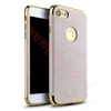 Picture of IPACKY Ultra Slim Thin PU Leather Coated [Built-in Magnetic Metal Plate] TPU Electroplate Frame Bumper Protection Case Cover For IPHONE 7 PLUS