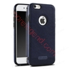 Picture of PU leather style stitching silicone case for iphone 7 plus