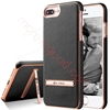 Picture of G-CASE Ultra Slim Stand Cover Built-in metal plate design Leather Case for iphone 7 plus