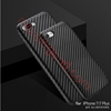 Picture of Premium Slim Soft Rubberized Carbon Fiber pattern Cover Case for iphone 7
