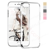Picture of Ultra Thin Flexible Soft TPUElectroplated Case with Crystal Back for iphone 6 plus/6s plus
