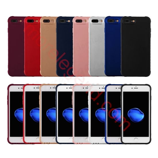 Picture of Anti-shock Scratch-Resistant Bumper Case Shock-Absorption TPU Cover for iphone 7