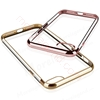 Picture of Ultra Thin Flexible Soft TPU Electroplated Case with Crystal Back for iphone 7